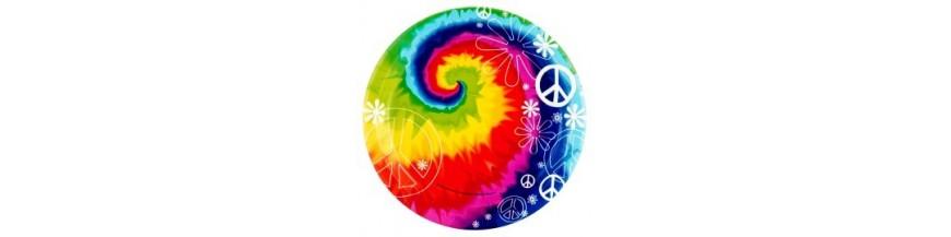 T Amor y Paz Hippies 60s